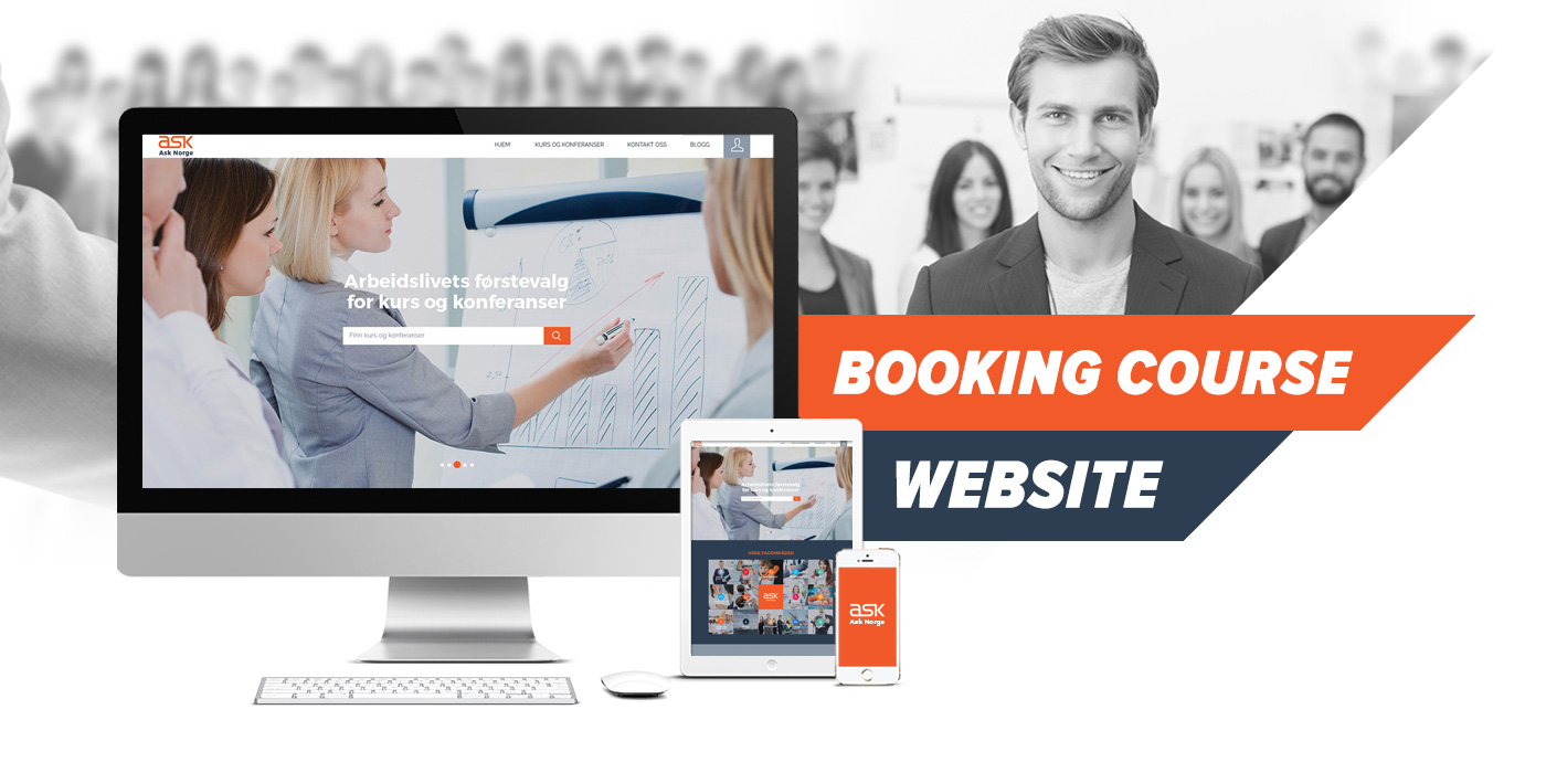 Booking Cours Website