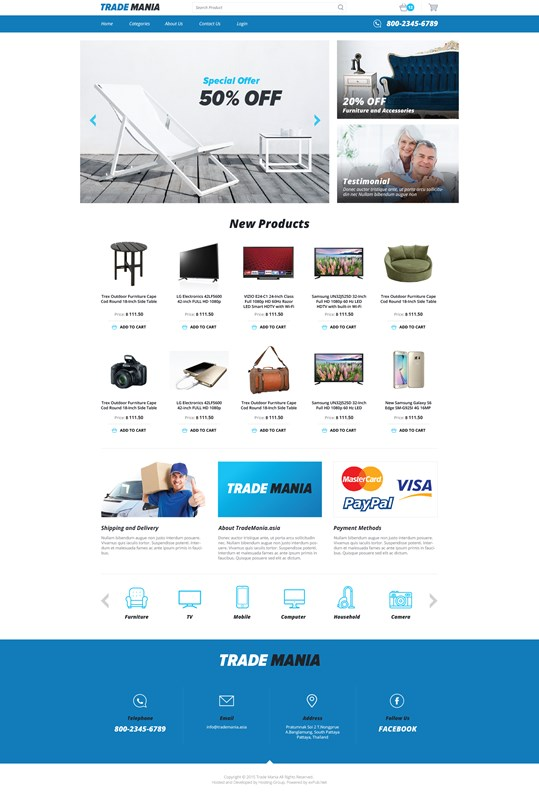 Web Design-Portfolio - TradeMania
