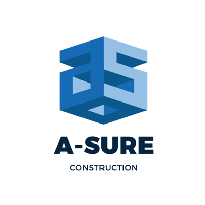 Logo Design - ASURE-CONSTRUCTION