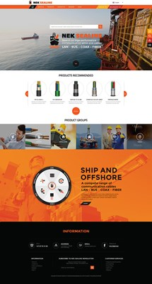 Web Design-Portfolio - Nek-sealine