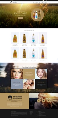 Web Design-Portfolio - Sunshine Enterprises AS