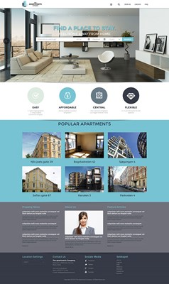 Web Design-Portfolio - The-Apartment